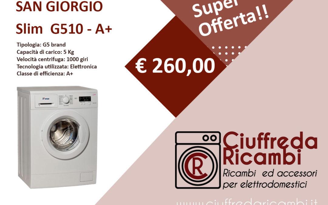 Lavatrice Slim G510 - Ciuffreda Ricambi